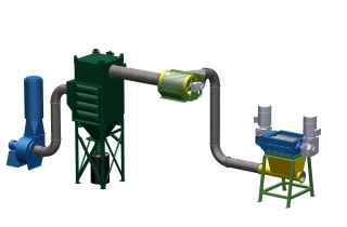 High Efficiency Dust Extraction Drum