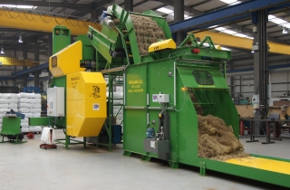 Haylage Baler / Packing System