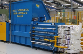 Foam Baler - Baling Machine for Foam