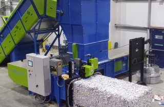 Twin Ram Baler Fully Automatic