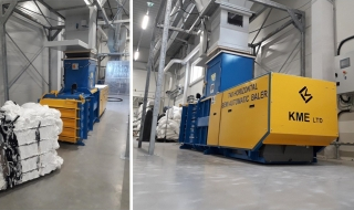 T40 Horizontal Baler Semi Automatic