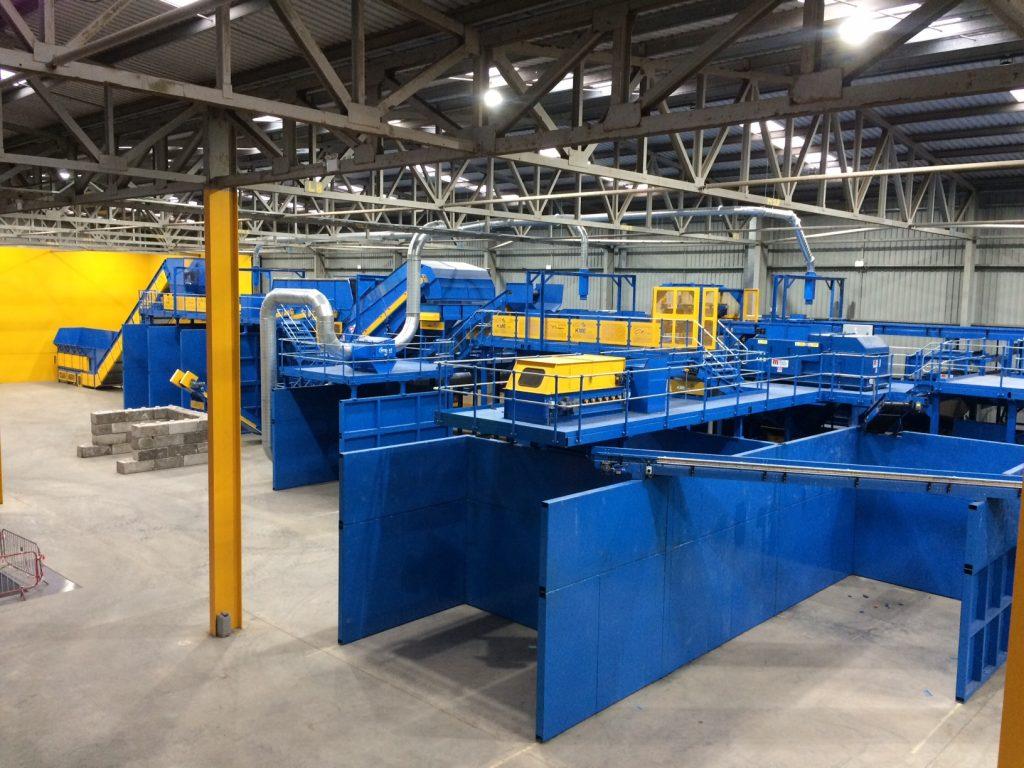 MRF installed at O'Brien waste