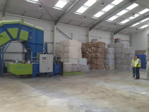 Balers perfect for distribution centres